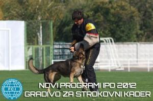 Novi programi IPO 2012, gradivo za strokovni kader