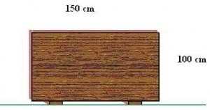 Skaklnica 1 m